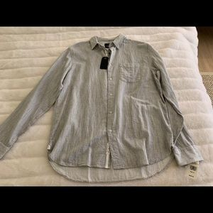 Grey Rag & Bone shirt. Never worn. With tags.